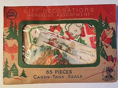 Vintage Cities Service Gas Oil Christmas Gift Decorations Advertising Giveaway