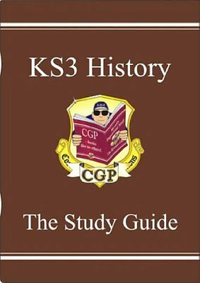 KS3 History: Study Book Pt. 1 & 2 (Study Guide) By CGP Books
