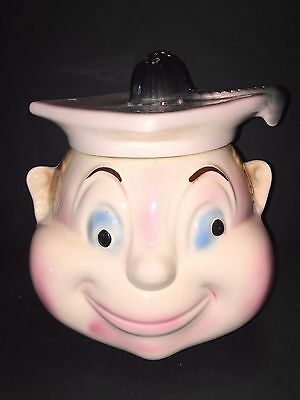 Graduate Cookie Jar For A Smart Cookie Vintage 1950s by Cardinal