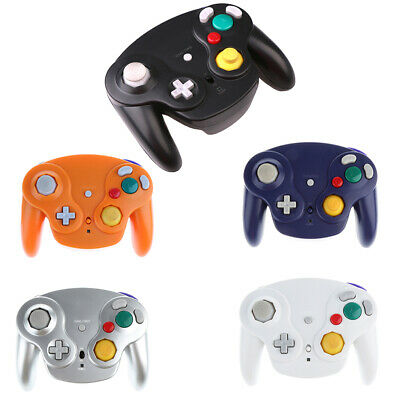 Wireless Game Controller + Receiver for Nintendo GameCube Wii GC NGC Gamepad