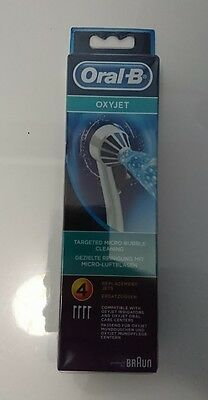 ORAL-B Oxyjet ED17 Canules Hygiène dentaire - 4 canules
