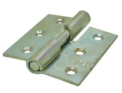 "75mm (3"") SC Left Hand 466 Pattern Steel Rising Butt Hinges (1 pair) - 5 pack(s)"