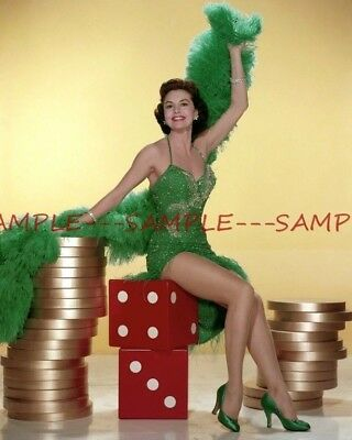 CYD CHARISSE Colorful Photo