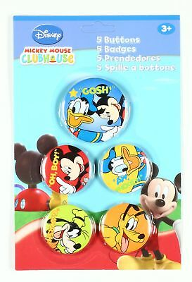 Pin's Mickey Mouse 5 badges de Mickey et ses amis, Disney