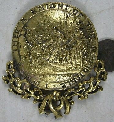 Vintage 1930's Thee A Knight of The Roundtable Cast Pin
