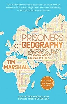 Prisoners Of Geography Tim Marshall Global Politics NEW Paperback Book 783962433