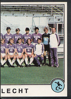 Panini Sport Superstars Euro Football 1982 - Sticker No 130 - Anderlecht