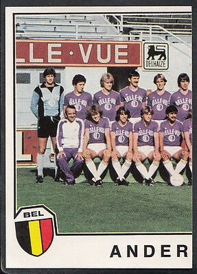 Panini Sport Superstars Euro Football 1982 - Sticker No 129 - Anderlecht