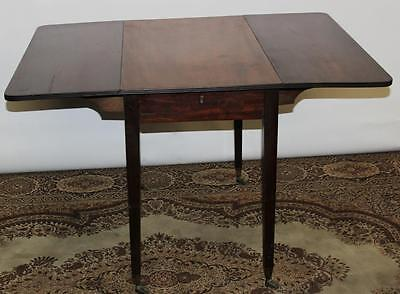 Antique Edwardian Mahogany Pembroke Drop Leaf Table - FREE Shipping [PL1874]