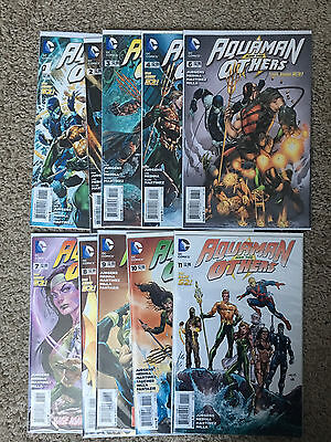 DC Comics AQUAMAN AND THE OTHERS 1 2 3 4 6 7 8 9 10 11 (New 52) NM