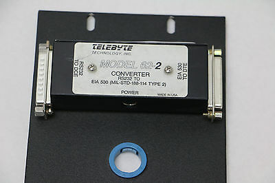 telebyte modell 62-1 RS-232 to EIA-530 Interface Converter