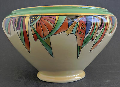 ca 1920s Amercian Art Deco Fraunfelter 'Royal Rochester' MODERNISTIC Batter Bowl