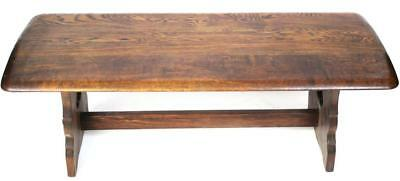 Antique Oak Refectory Coffee Table - FREE Shipping [PL2022]