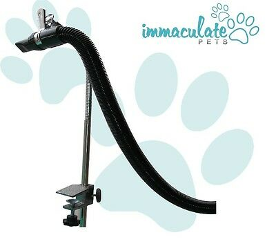 NEW Dog Grooming Table Blaster / Dryer Hose Clamp Arm GROOMERS 'THIRD' ARM