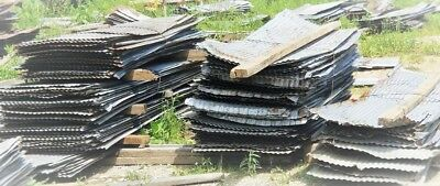 * Reclaimed Corrugated Metal Tin Roofing {Full Sheets Available } 1 Sq Ft Sample