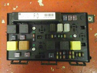 vauxhall astra h mk5 front bcm electric control uec fuse box fd 04-2010