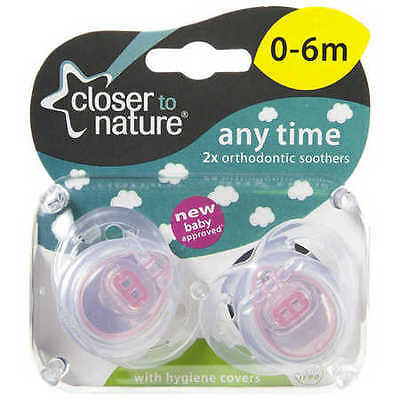 NEW Closer To Nature Any Time Soother 0-6m