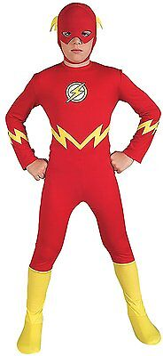 Rubie Boys Justice League The Flash Child Kids Size Small 4-6 Superhero Costumes