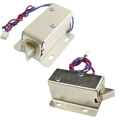 Durable DC 12V/24V Open Frame Type Solenoid for Electric Door Lock
