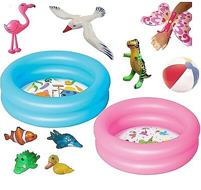Mini Inflatable Paddling Pool Toys Baby Toddler Kids Foot Swimming outdoor fun