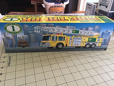 BP aerial Tower Fire Truck  1:35 Scale 1996 Collectors Edition