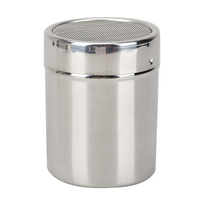 Stainless Steel Flour Sifter Icing Sugar Dredger Chocolate Powder Shaker