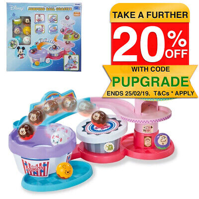 Tomy Disney/Pixar Characters Jumping Ball Coaster/Toy/Baby/Kids/Toddler/Game/1y+