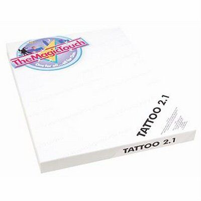 Tattoo 2.1 temporal TheMagicTouch 25 hojas