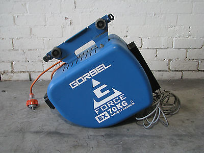 Electric Wire Hoist Lift - Gorbel G-Force BX 70kg
