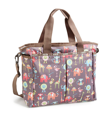 1a4592c67 LESPORTSAC RYAN BABY Bag Diaper Tote with changing pad Bubble Star B ...