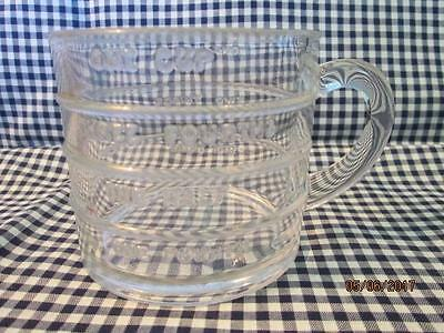 Vintage One cup Measuring cup - clear glass