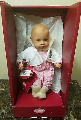 "GOTZ BABY DOLL  FROM  BEATRIX POTTER COLLECTION 13"" Susa   2003."