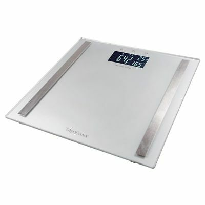 1796e8ce833bad MEDISANA BODY FAT Analysis Bathroom Weight Scales BS 482 180 kg Sliver  40438~ - £47.17 | PicClick UK