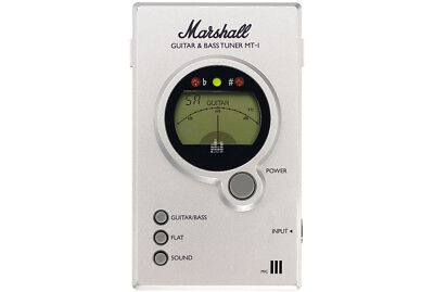 Marshall MT-1 Guitar, Bass, Acoustic Instrument Tuner w/LCD Needle Meter & Mic