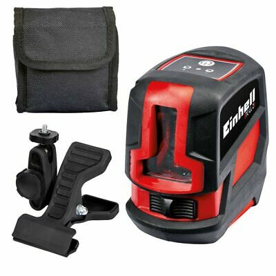 B#Einhell Cross Laser Level TC-LL 2 Red Walls Floors Ceiling Workpieces  2270105