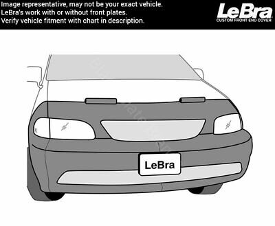 Vinyl Black LeBra Front End Cover Mazda Tribute
