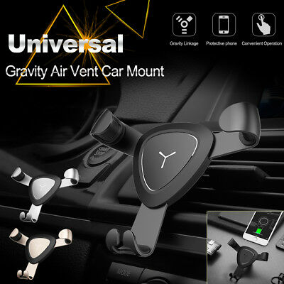 Universal Car Air Vent Holder Mount For iPhone 5 6 7 Plus Samsung S8 GPS Mobile