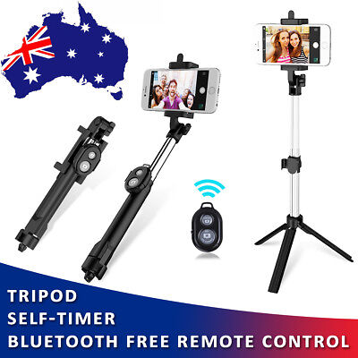 New Wireless Bluetooth Selfie Stick Monopod For Mobile Phones Samsung iPhone 8