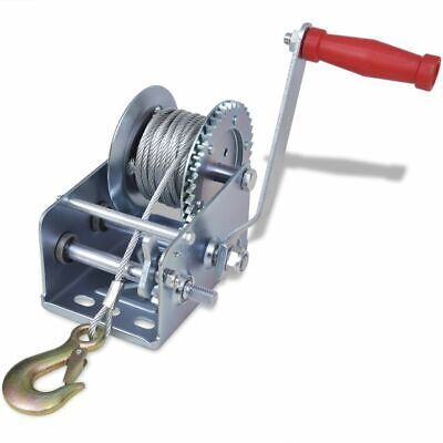 New Iron Hand Winch Pickup Trucks Trailers Manual 10 m Cable Length 4 Models