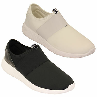 mens trainers Crosshatch slip on running sneakers pumps shoes casual designer