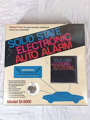 Vintage NOS Solid State Electronic Auto Alarm Car Truck Model SI-5000 Sealed