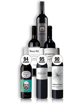 Barossa And Mclaren Vale Shiraz Tasting Pack (6 Bottles)