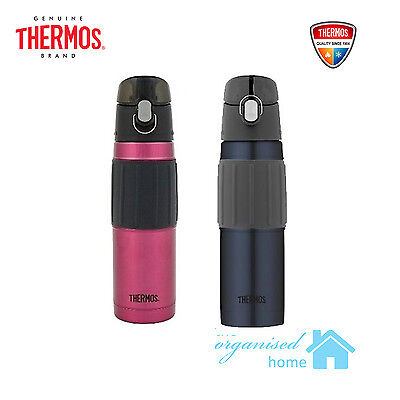 Thermos Stainless Steel Vacuum Insulated Cold Drink Hydration Bottle Flask 530ml