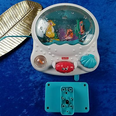 Fisher-Price Ocean Wonders Aquarium Crib Baby Soother Musical with Light Toy