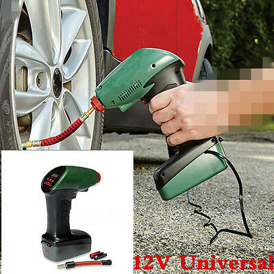 New 12V Car Electric Portable Air Compressor Inflator Pump For Tyre Sports Ball