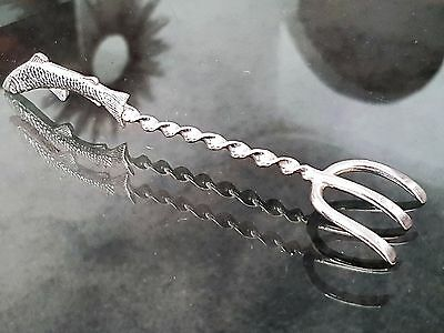 Antique WMF Silver Plated Sardine Fork