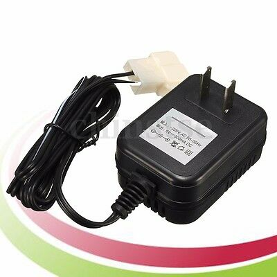 6V Adapter AC Wall Charger For Battery Powered Kid TRAX ATV Quad Ride On Car US