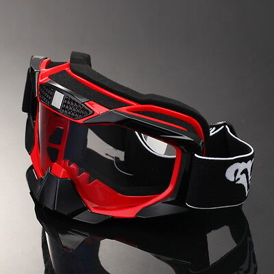 Motocross Off Road Riding Helmet Goggles Foldable Snowboard Windproof Glasses