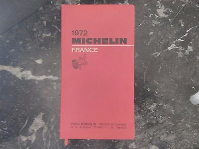 Guide Michelin De 1972.