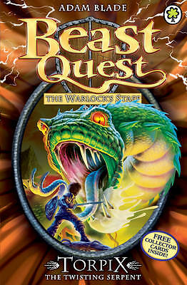 NEW BEAST QUEST (54) TORPIX the Twisting Serpent ( Adam Blade )